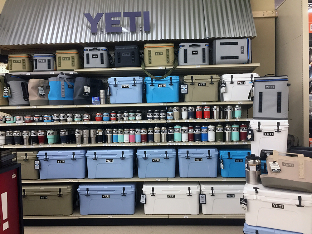 Williamsburg Store Yeti
