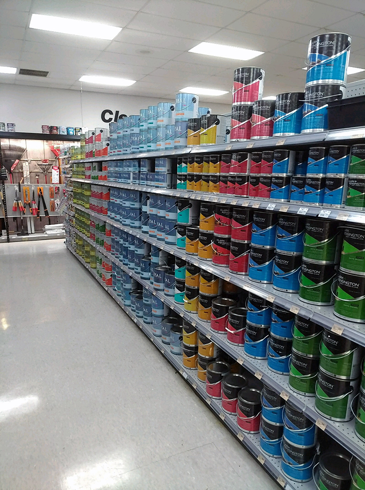 Williamsburg Store #2 Paint